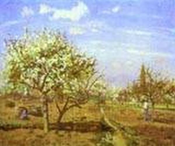 Orchard in blossom louveciennes 1872 xx washington dc usa